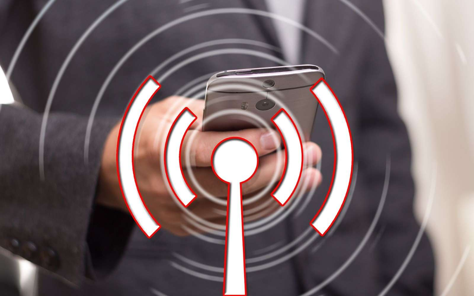 La prochaine norme Wi-Fi pourrait détecter les mouvements, et même la respiration. © Geralt, Pixabay