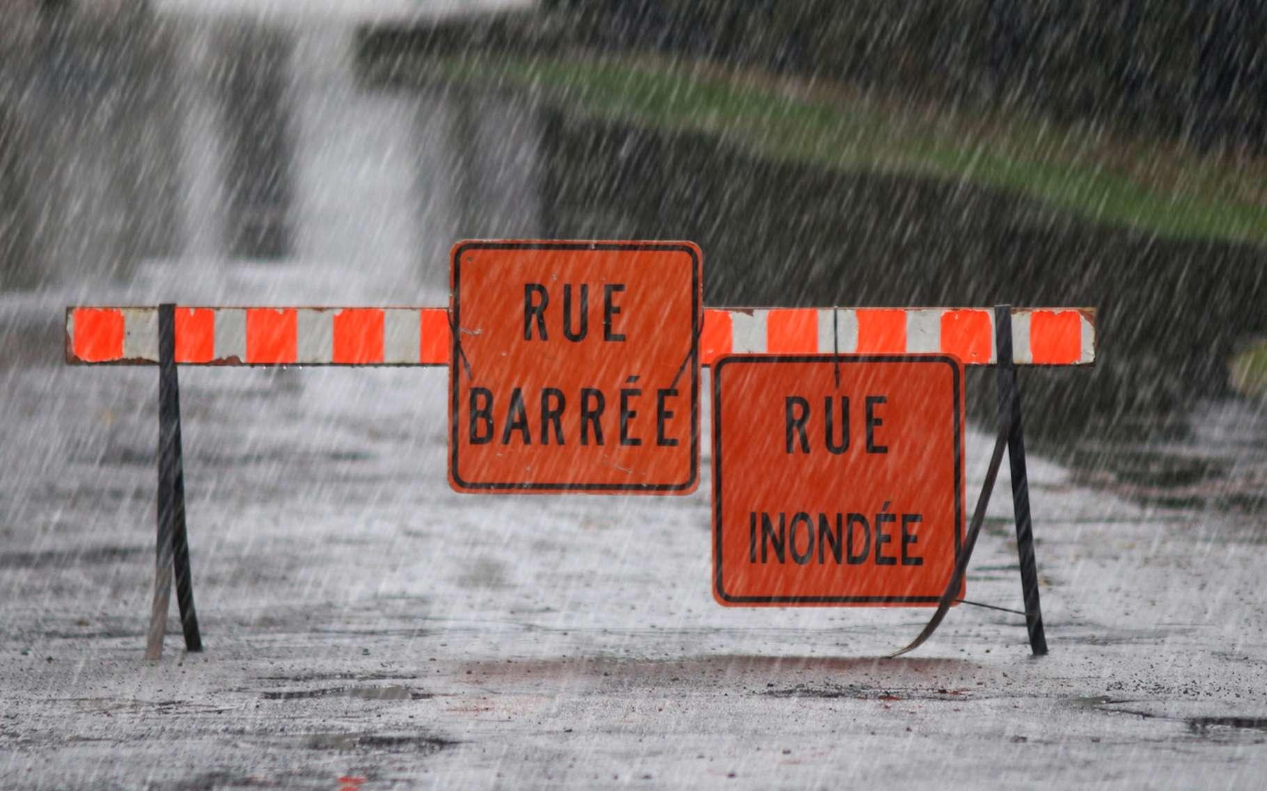 Les orages cévenols sont des évènements climatiques extrêmes souvent à l'origine d'inondations. © mario beauregard, Fotolia