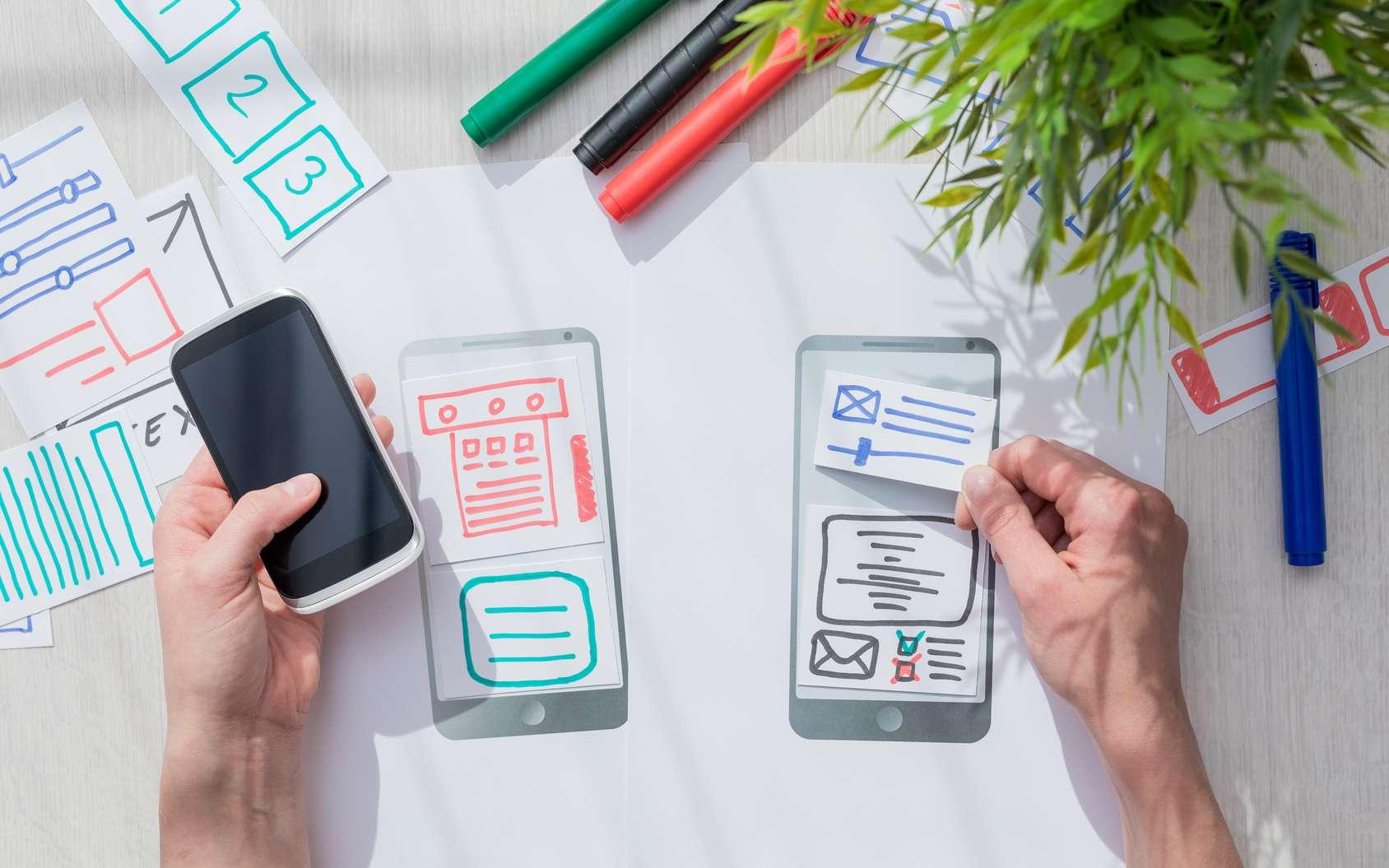 L'UX designer se met à la place de l'utilisateur final pour proposer la meilleure interface possible et la rendre la plus agréable possible. © REDPIXEL, Fotolia.