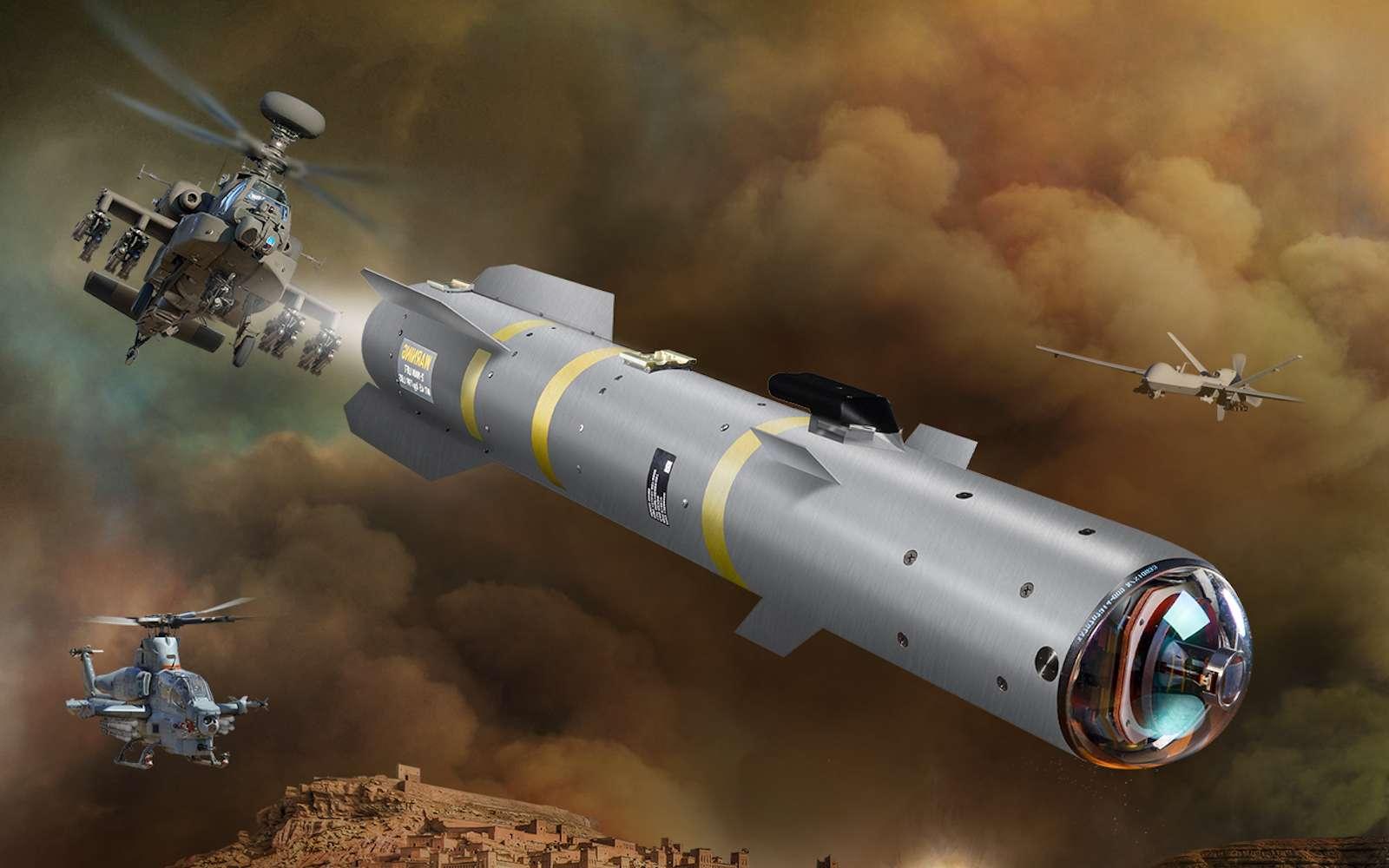 Le missile R9X est destiné à des attaques très ciblées contre des chefs terroristes. © Lockheed Martin
