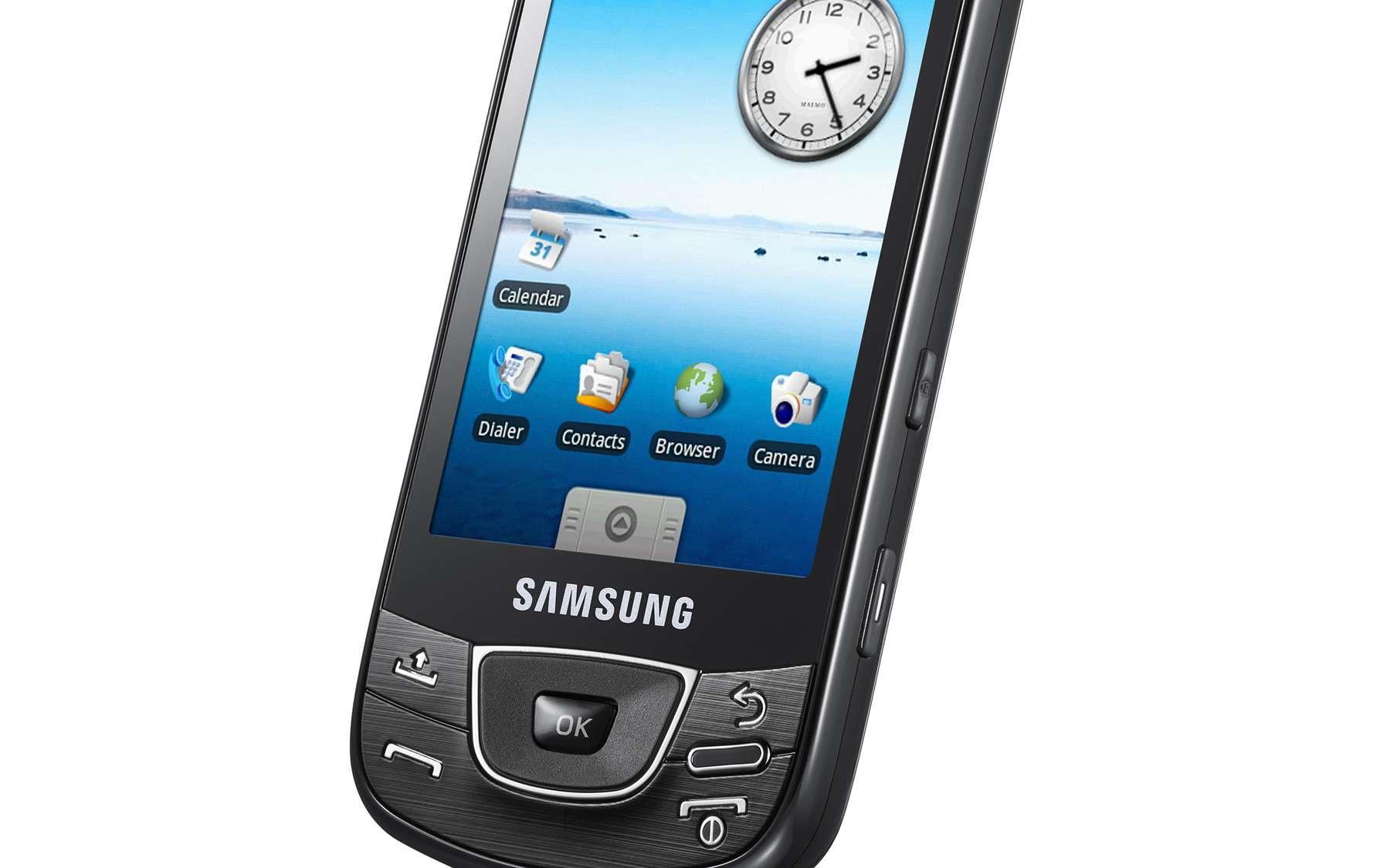 Les smartphones, comme ce Galaxy i7500 (Samsung), deviendront-ils les proies d'une nouvelle piraterie ? © Samsung