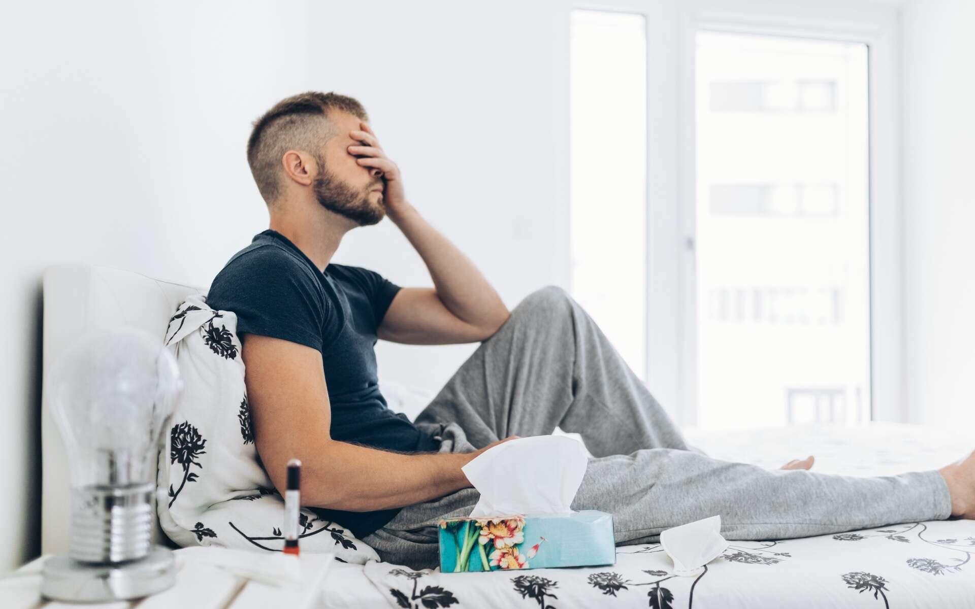 Plusieurs semaines après avoir été infectées, les personnes souffrant de la Covid-longue sont encore fatiguées et essoufflées. © and.on, Adobe Stock
