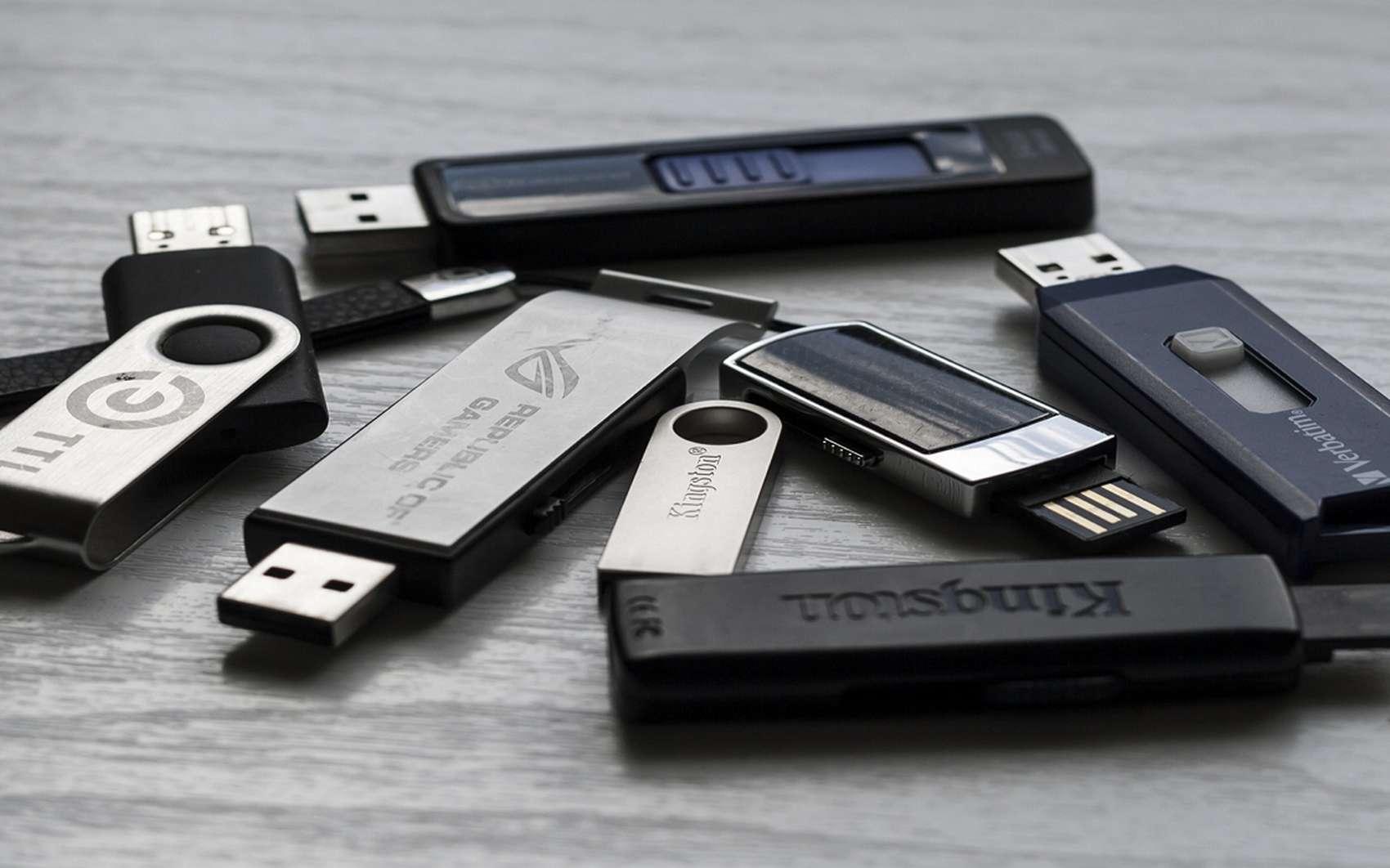 Futura vous explique comment réparer votre clé USB. © pxhere.com