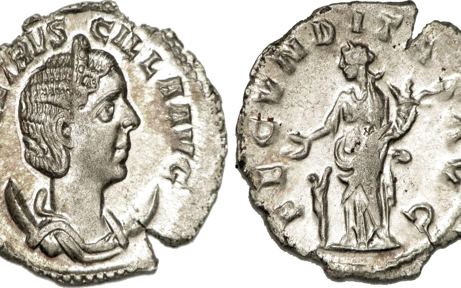 Le billon est un alliage de métaux qui a longtemps servi à la fabrication de pièces de monnaie. © cgb.fr, Wikipédia, CC by-sa 3.0