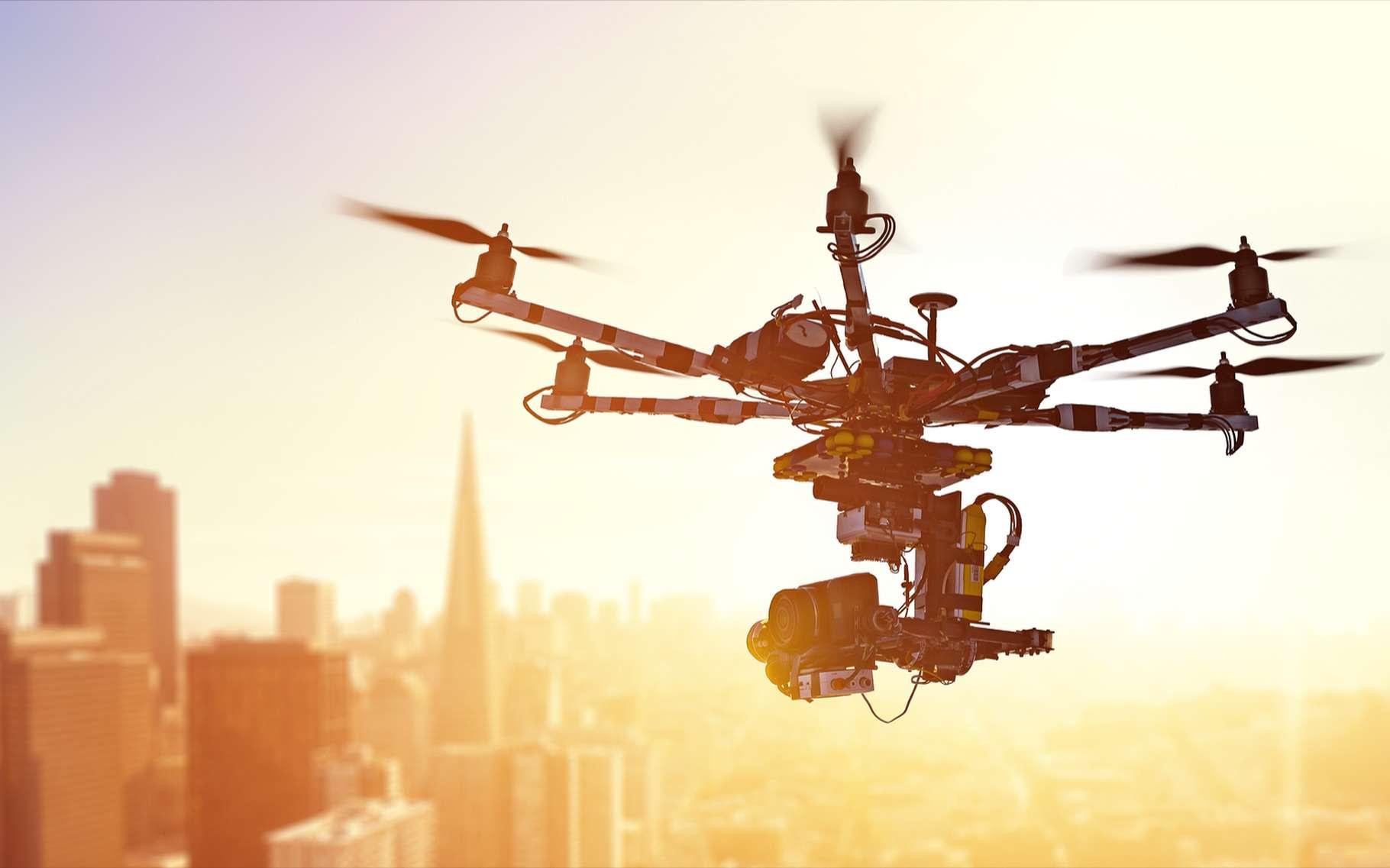 Le matériau composite imaginé par des chercheurs de l'École polytechnique fédérale de Lausanne permettra-t-il de transformer, à la demande, un drone en voiture? © Alexey Yuzhakov, Shutterstock