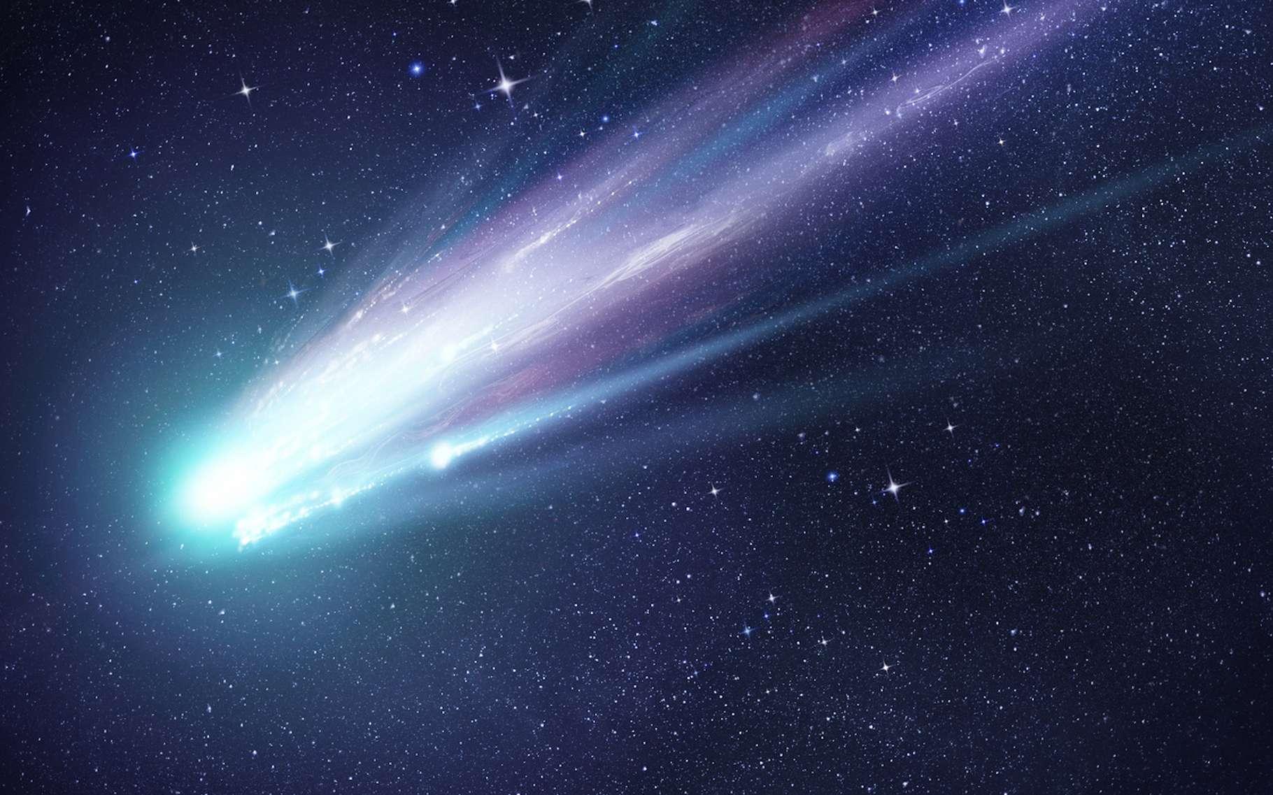 À l'image de ce que sont les orbites des comètes, celle de l'exoplanète baptisée HR 5183 b est très excentrique. © James Thew, Fotolia