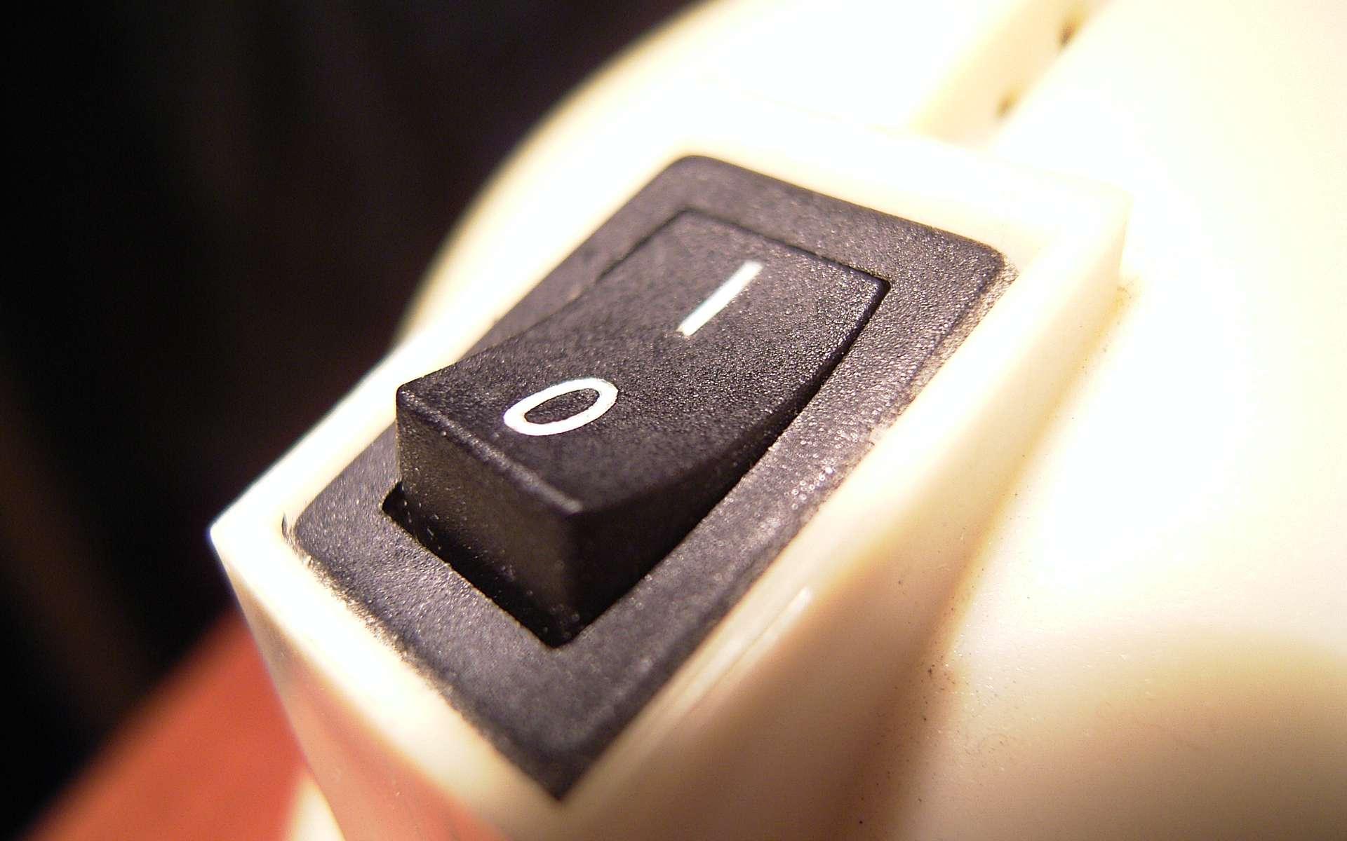 Un interrupteur unipolaire peut être branché presque n'importe où. © Stefan-Xp, Wikimedia Commons, CC BY-SA 3.0