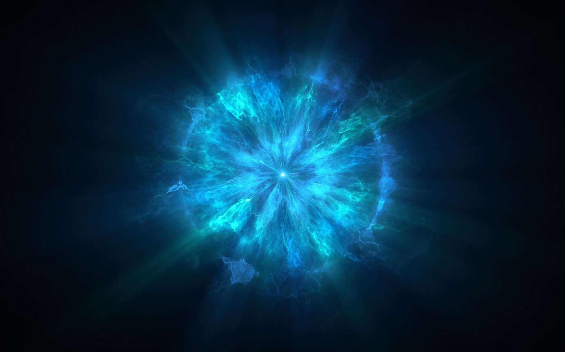 Les astronomes ont identifié une nouvelle classe d'objets transitoires, des explosions cosmiques rapides, lumineuses et puissantes. © YustynaOlha, Adobe Stock