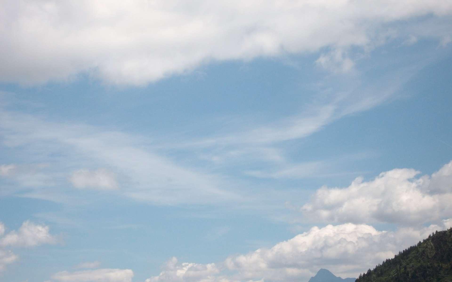 L'informatique en nuages a beaucoup d'avantages. Mais parfois les nuages disparaissent. © Lucienne Goudet