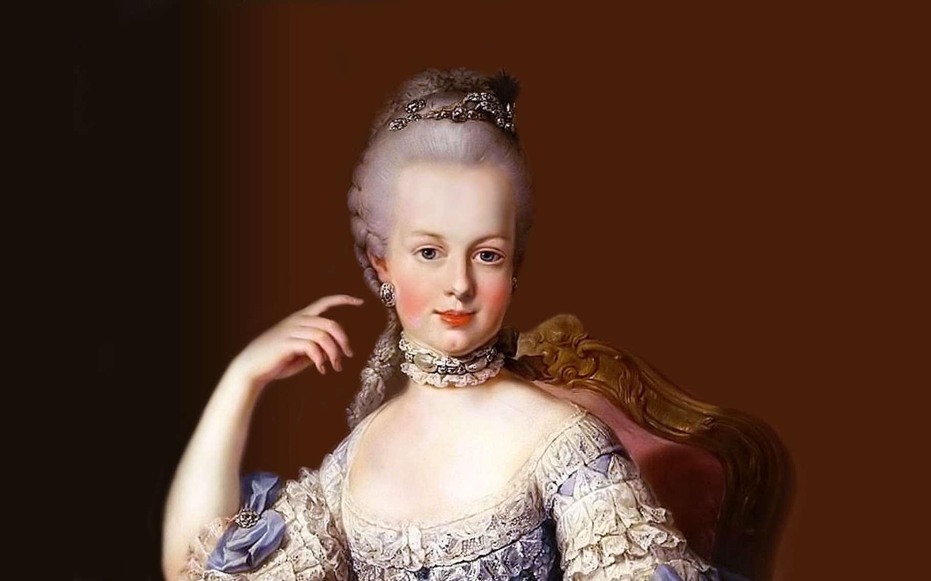 Portrait de Marie-Antoinette (1755-1793). © Wikimedia Commons, Domaine Public