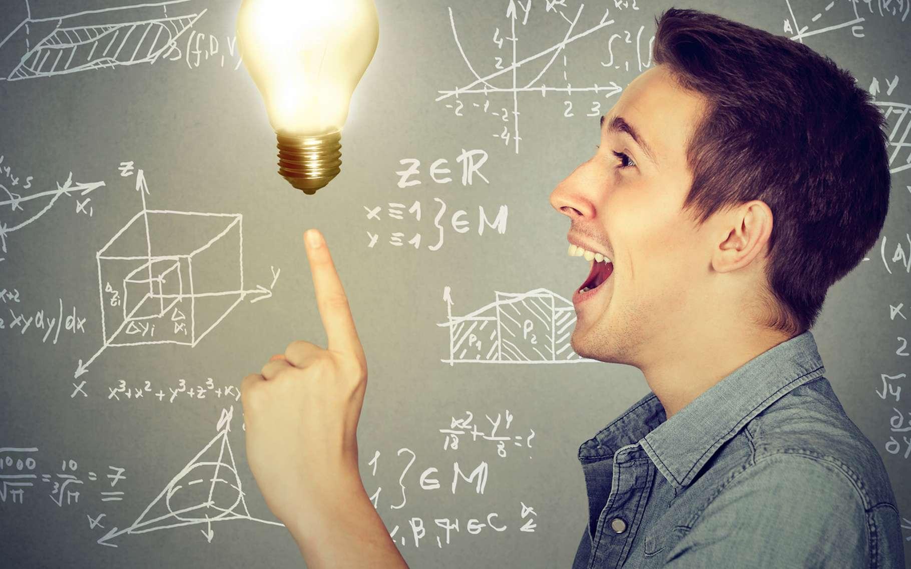 Que se passe-t-il dans notre cerveau lorsque nous avons un éclair de génie ? Des chercheurs américains avancent une réponse. © pathdoc, Fotolia