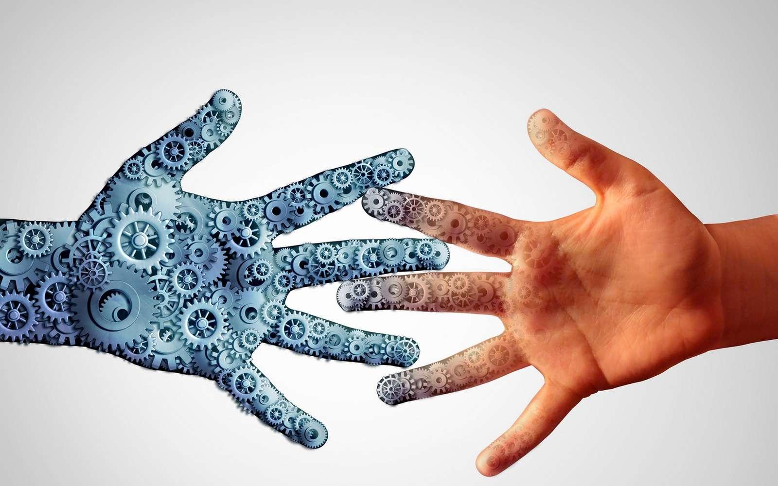 Le professeur Zhenan Bao de l'université de Stanford est en pointe dans le développement d'une peau artificielle sensible au toucher. © Freshidea, Fotolia