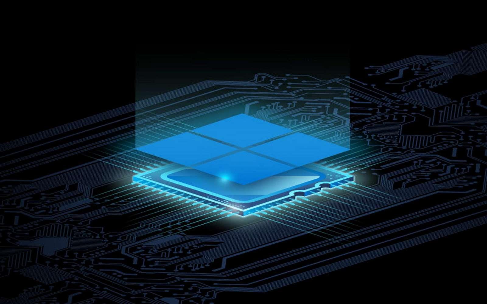 La nouvelle puce de sécurité Pluton sera intégrée directement dans le processeur des PC. © Microsoft