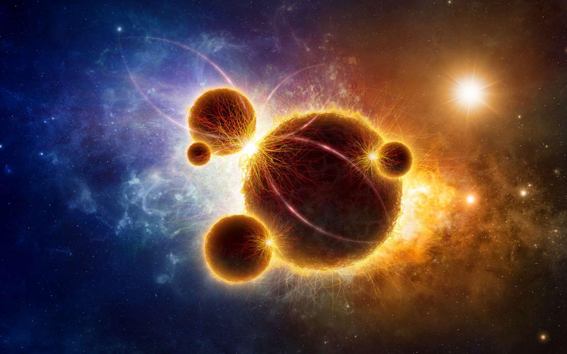 Selon des chercheurs de l'université de Californie Riverside (États-Unis), la zone dans laquelle chercher des planètes abritant une vie complexe est bien plus petite que la classique zone d'habitabilité décrite par les astronomes. © IgorZh, Fotolia