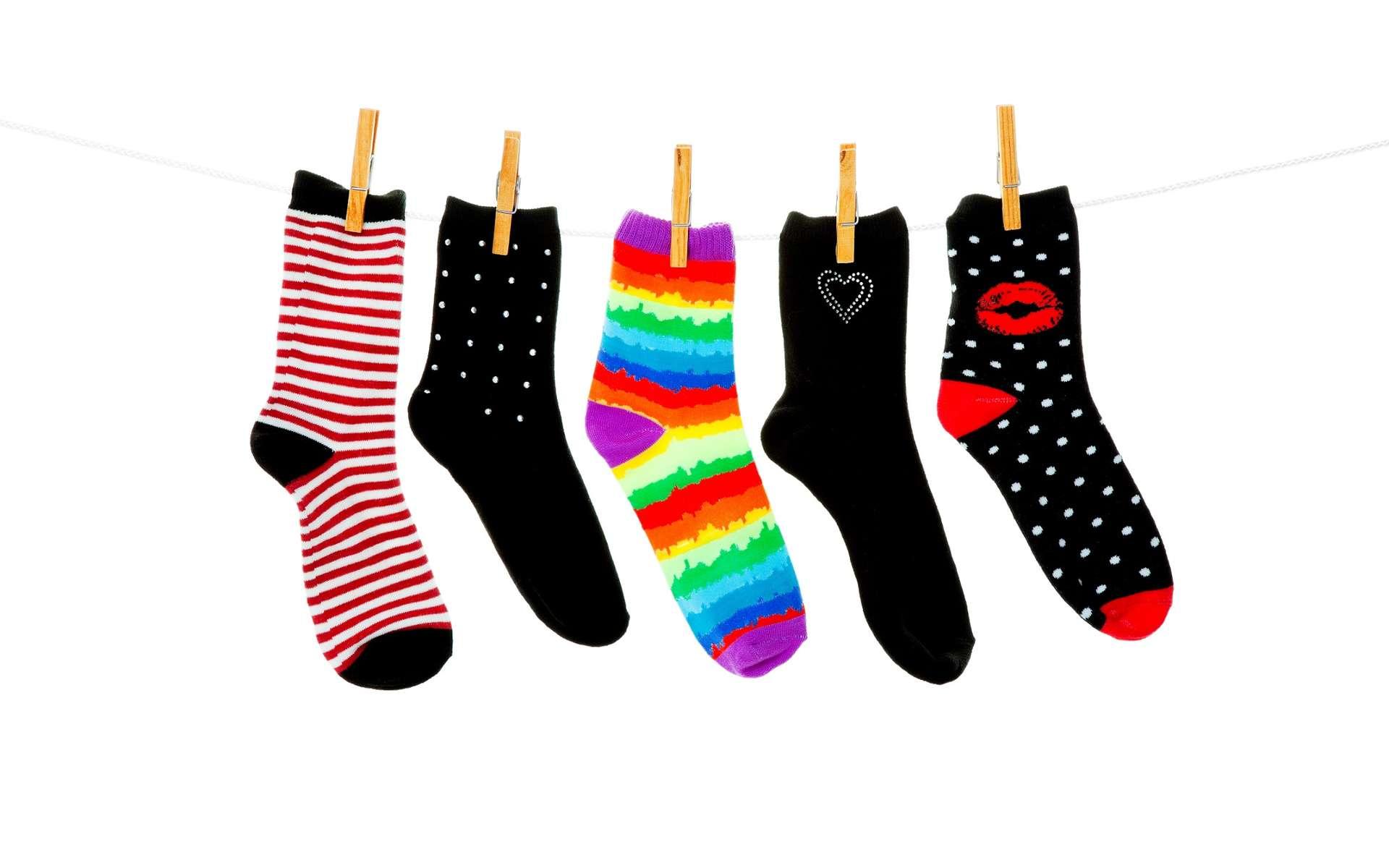 Au fil du temps, les chaussettes dépareillées s'accumulent… Mais où sont passées toutes les autres ? © Brenda Carson, Shutterstock