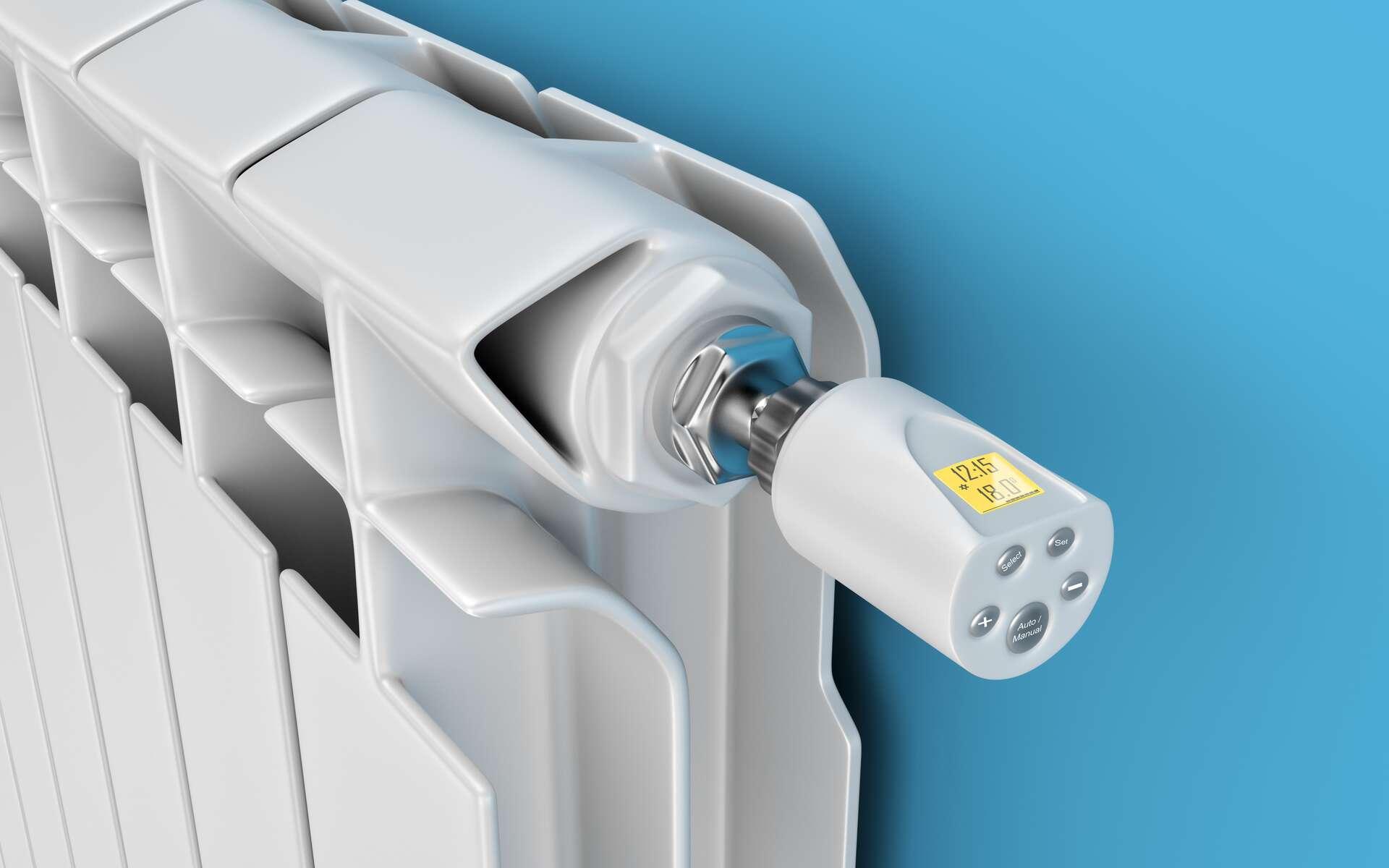 Les radiateurs électriques sont moins énergivores aujourd'hui. © Dezay, Adobe Stock