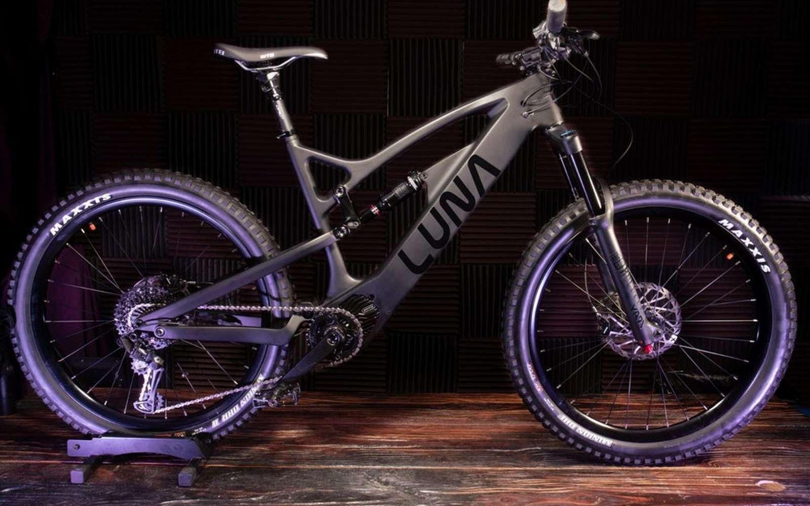 Le VAE enduro X-1 de Luna Cycle et son moteur Bafang M600. © Luna Cycle