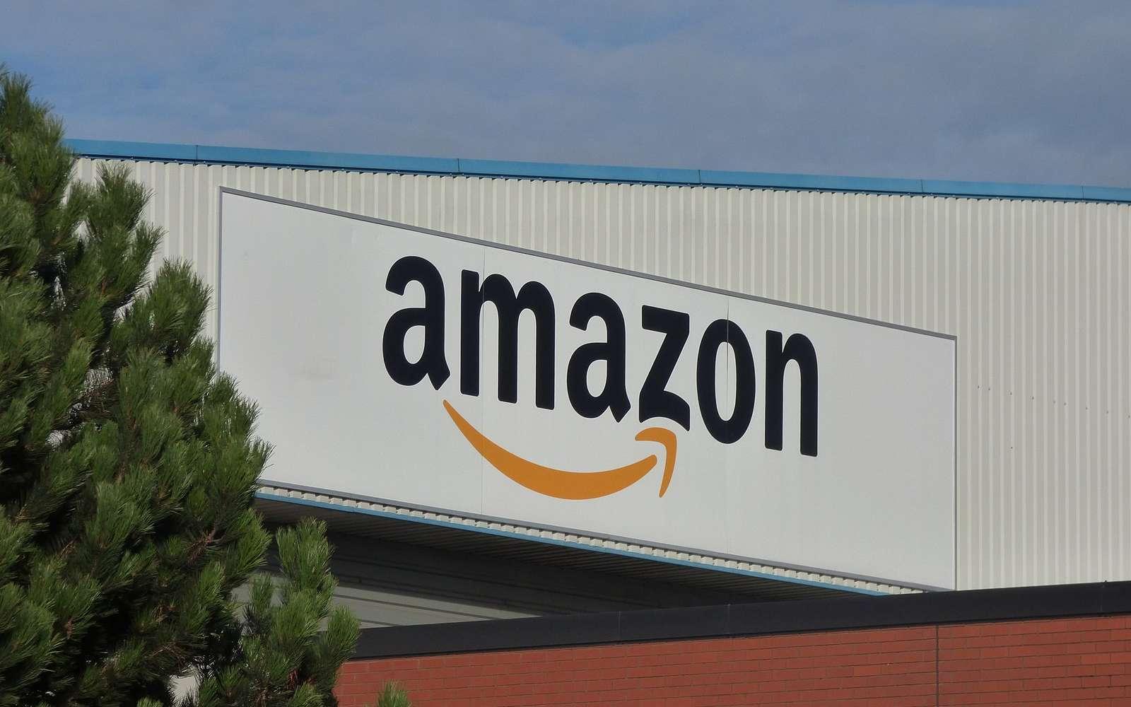 Un entrepôt Amazon © Sunlight Foundation