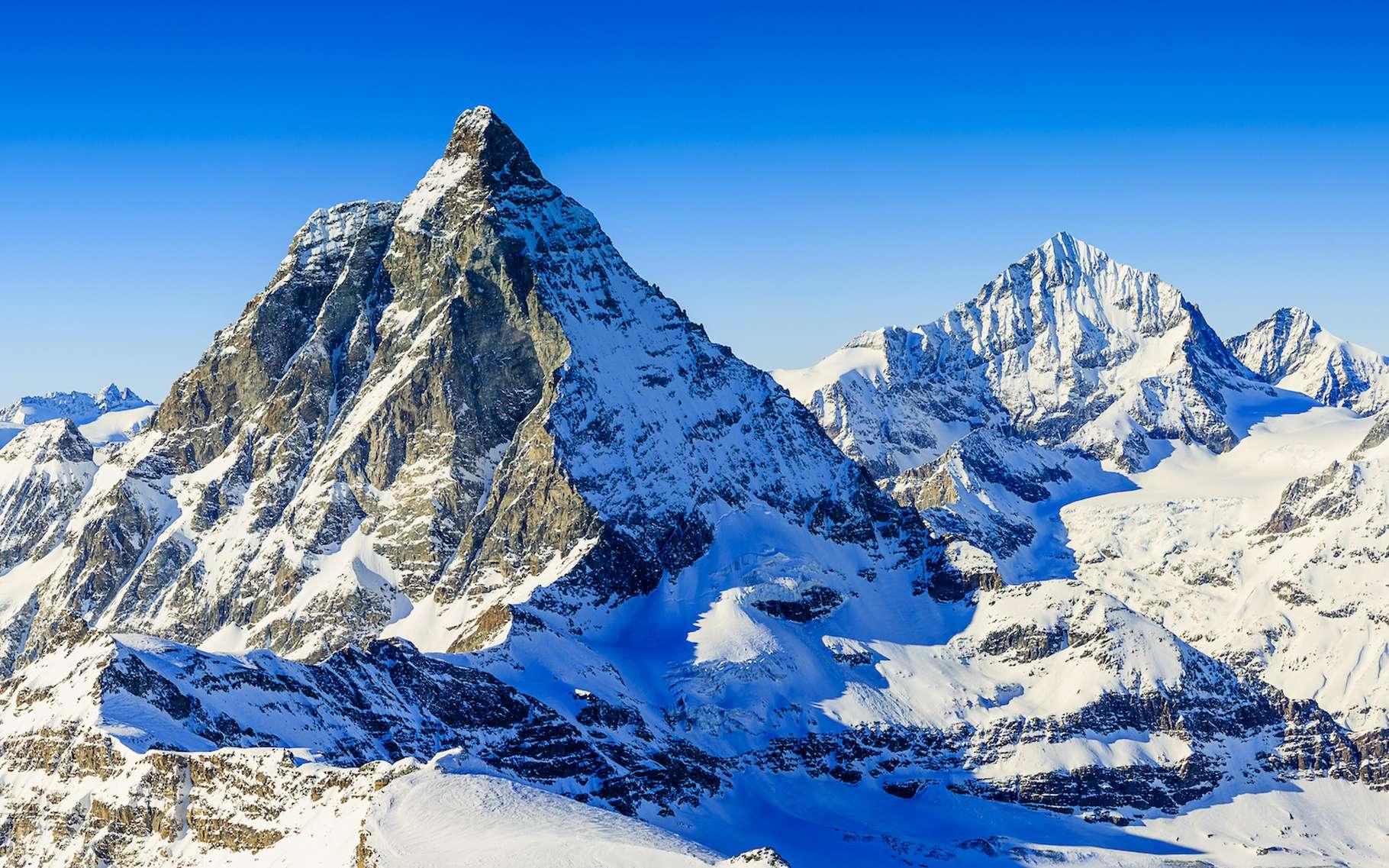 De nouveaux travaux montrent que les Alpes suisses seraient toujours en train de s'élever. © Gorilla, Adobe Stock