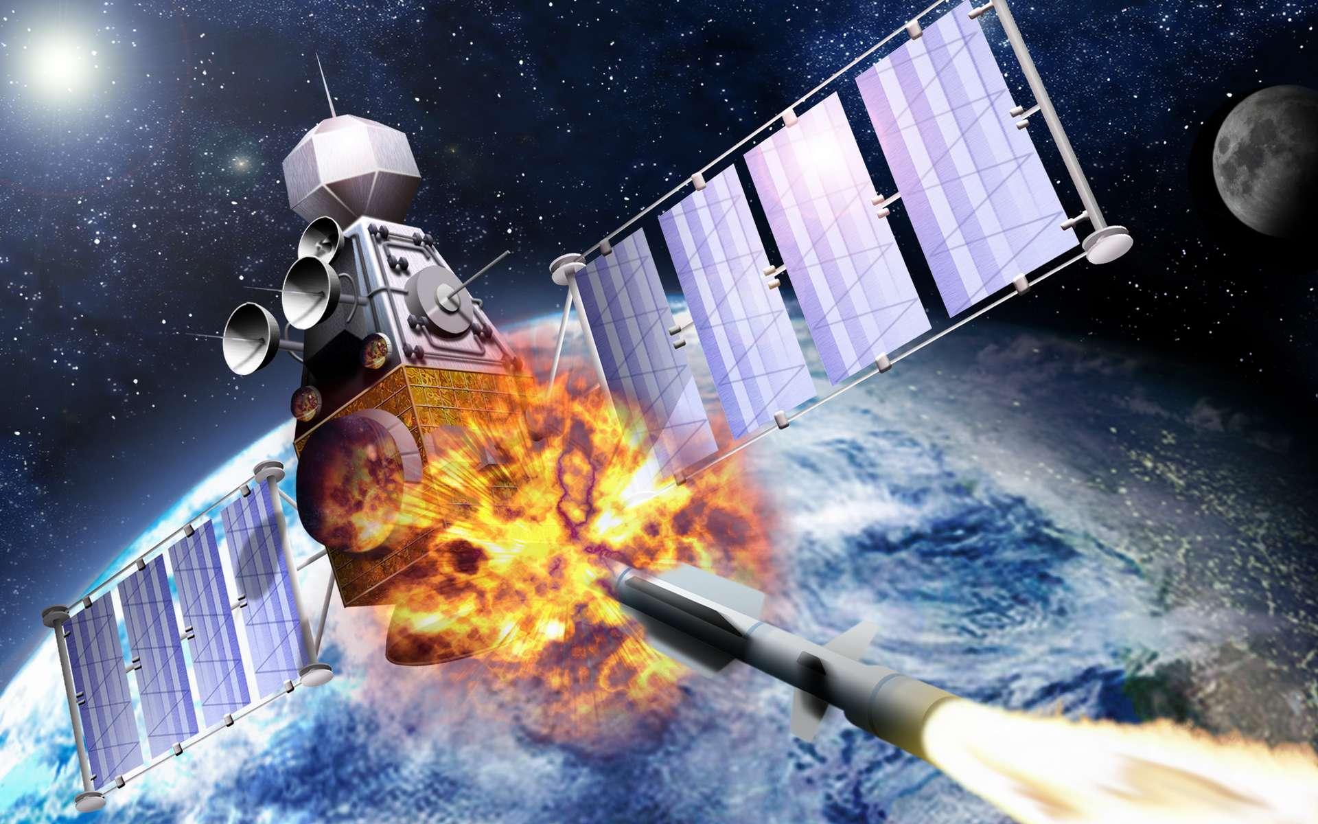 Deux satellites russes ont suivi un satellite espion américain. © edobric, Adobe Stock