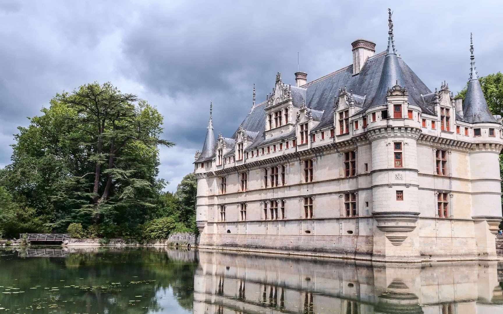 Le château d'Azay-le-Rideau. © Jean-Christophe Benoit CC by-sa 3.0