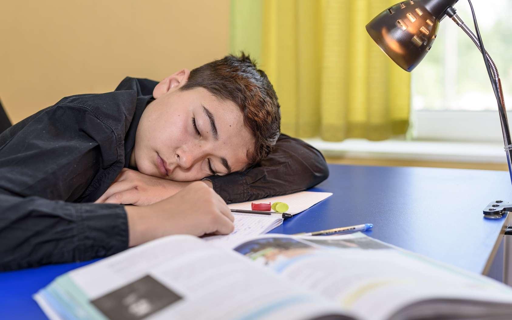 Commencer l'école à 8 h, ce serait trop tôt pour les ados ! © blanke1973, Fotolia
