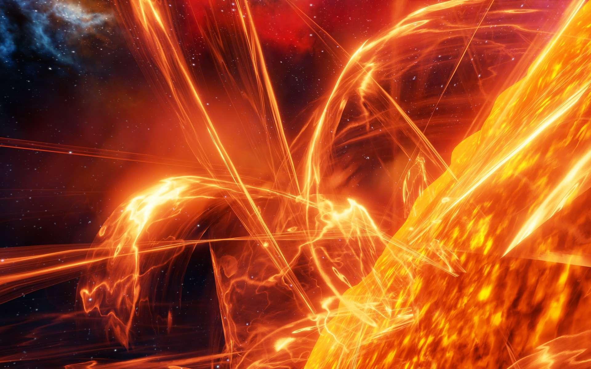 Des chercheurs viennent de retracer près de 1.000 ans de l'activité de notre Soleil grâce à une analyse précise des cernes d'arbres. © satori, Adobe Stock