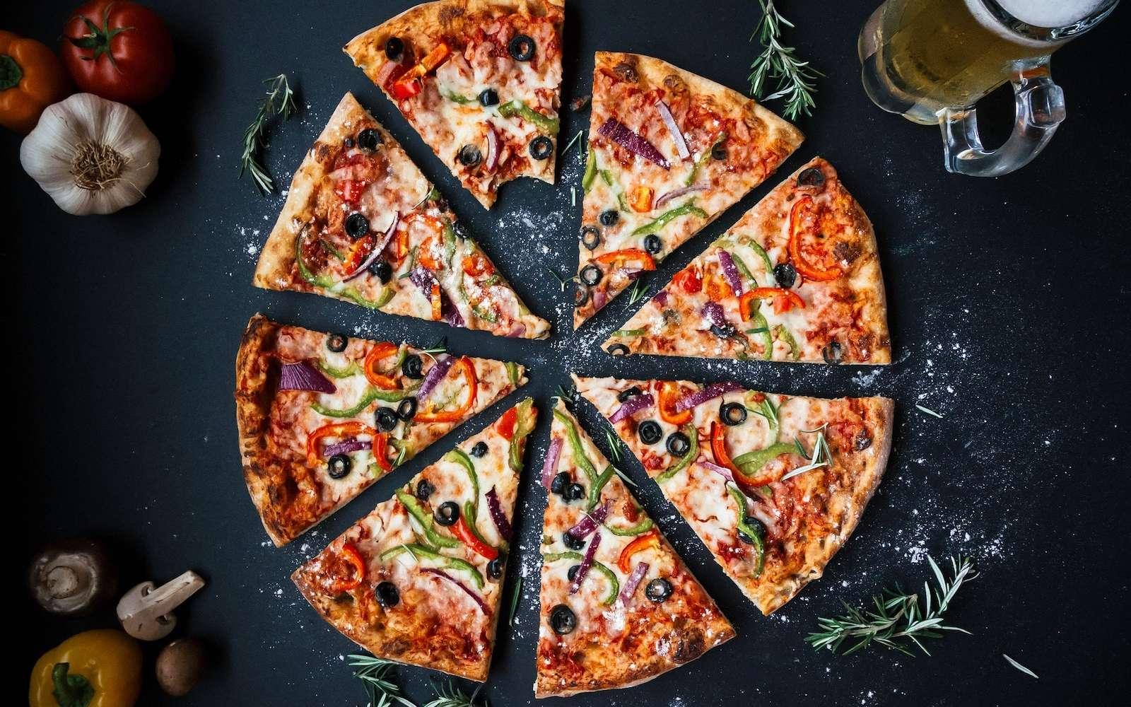 Chez Domino's, l'intelligence artificielle se met au service du client pour vérifier que la pizza ressemble bien à la photo. © Pixabay, igorovsyannykov