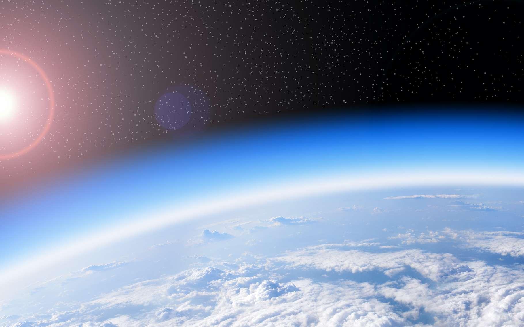 Les liens entre effet de serre et « trou d'ozone » sont difficiles à dénouer. © studio023, Adobe Stock