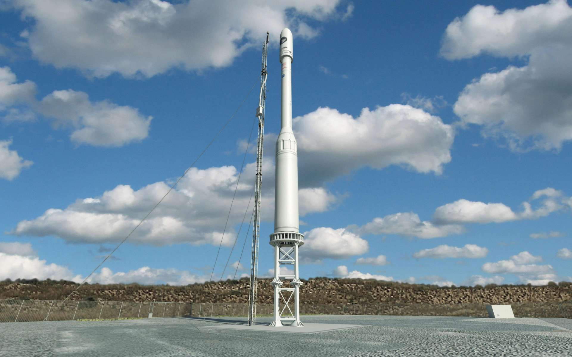 La fusée Taurus XL, à l'origine de deux échecs de missions de la Nasa. © Nasa