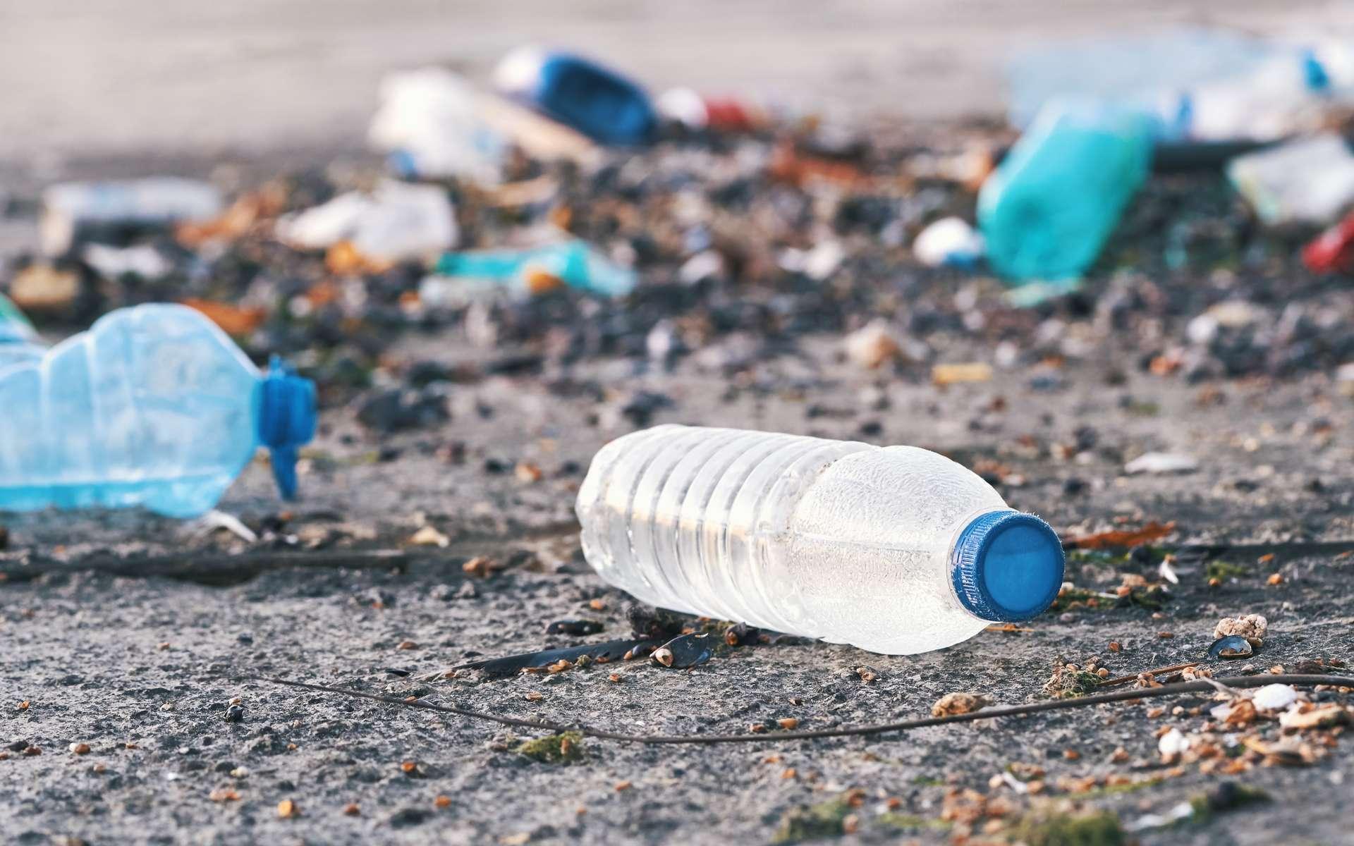 Des dizaines de milliers de déchets plastique polluant la planète sont générés par une poignée de multinationales. © marina_larina, Adobe Stock