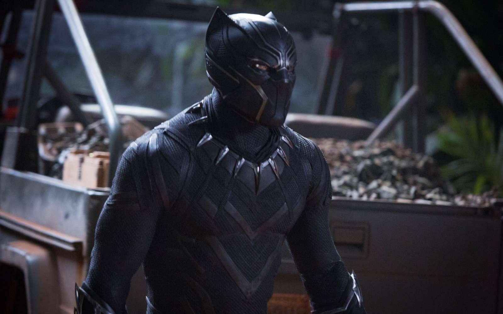 Le costume en vibranium de Black Panther est capable de contrôler l'énergie cinétique. Nos technologies pourront-elles un jour faire de même ? © Marvel Studios 2018, Matt Kennedy