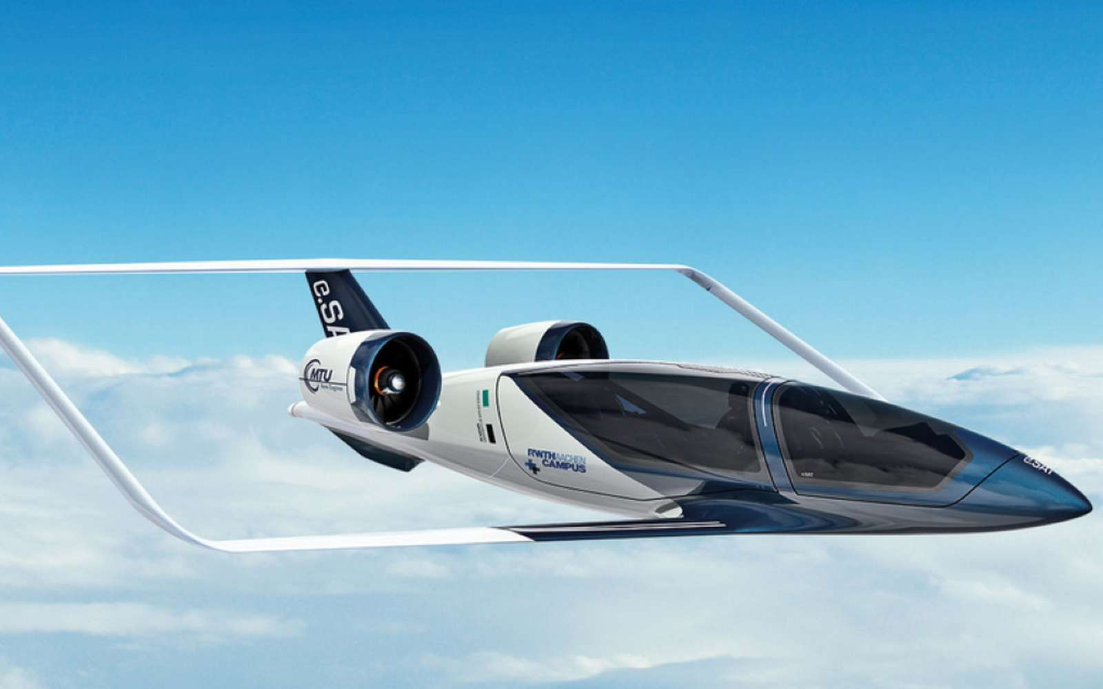 Une start-up allemande s'invite sur le marché des taxis volants. Objectif 2024. © e.SAT