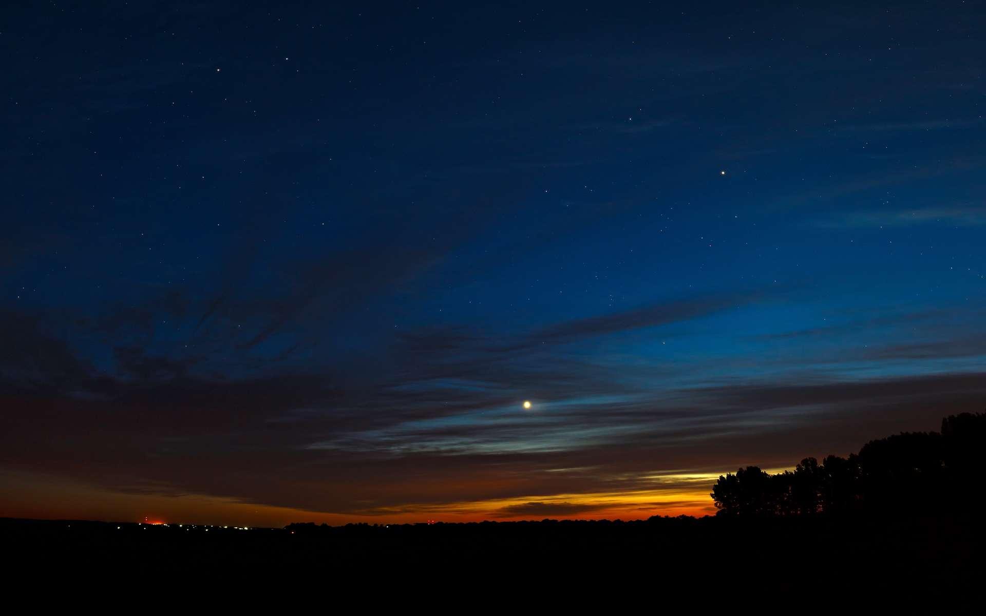 Vénus au crépuscule. © olgapkurguzova, Adobe Stock