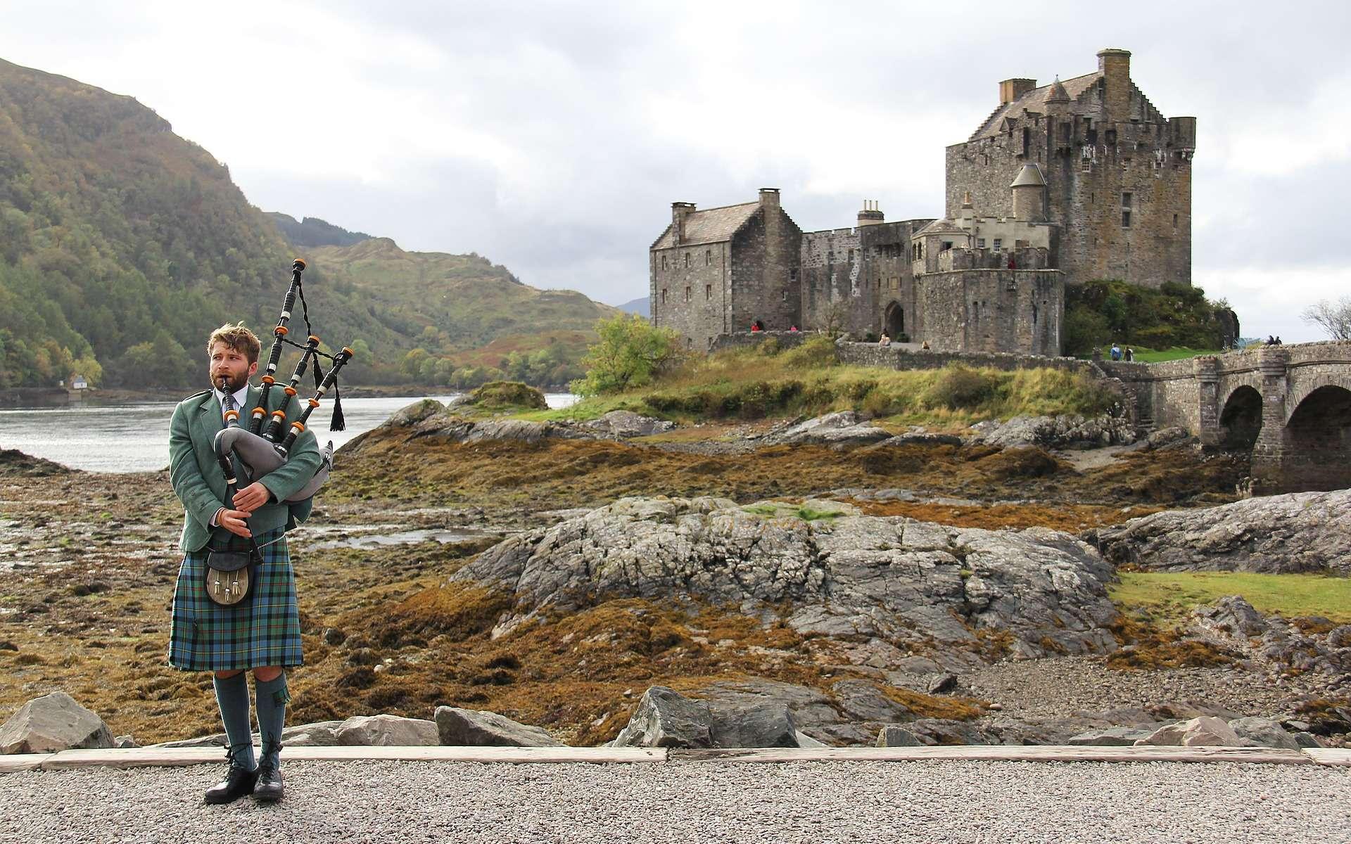 Le kilt est le vêtement typique de l'Écosse. © sharonang, Pixabay, CC0 Creative Commons