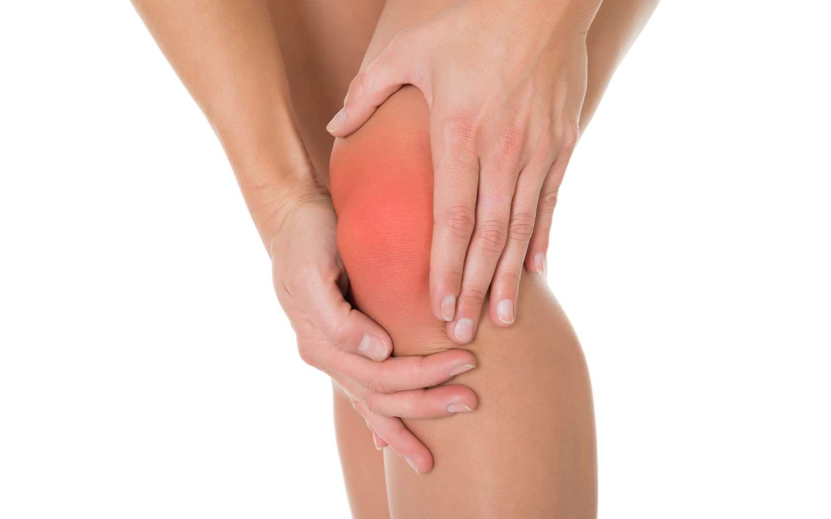 L'arthrose du genou est handicapante. © Andrey Popov, Fotolia
