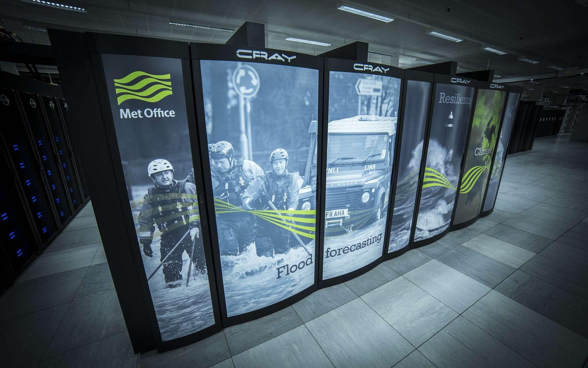 Un nouveau supercalculateur de 1,44 milliard d'euros pour les prévisions météo. © Met Office