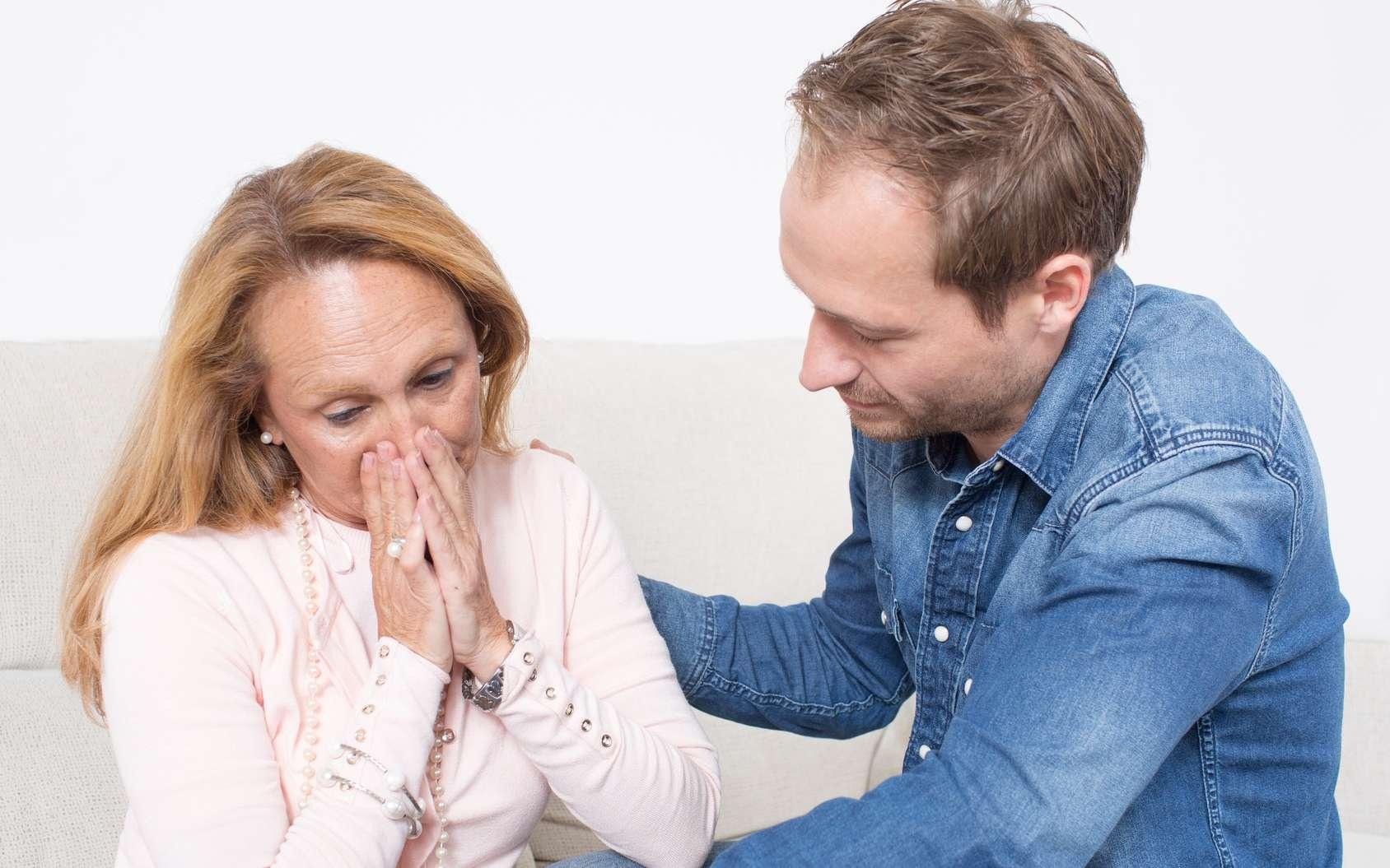 Les personnes empathiques apportent du réconfort à ceux qui souffrent. © Adam Gregor, Fotolia