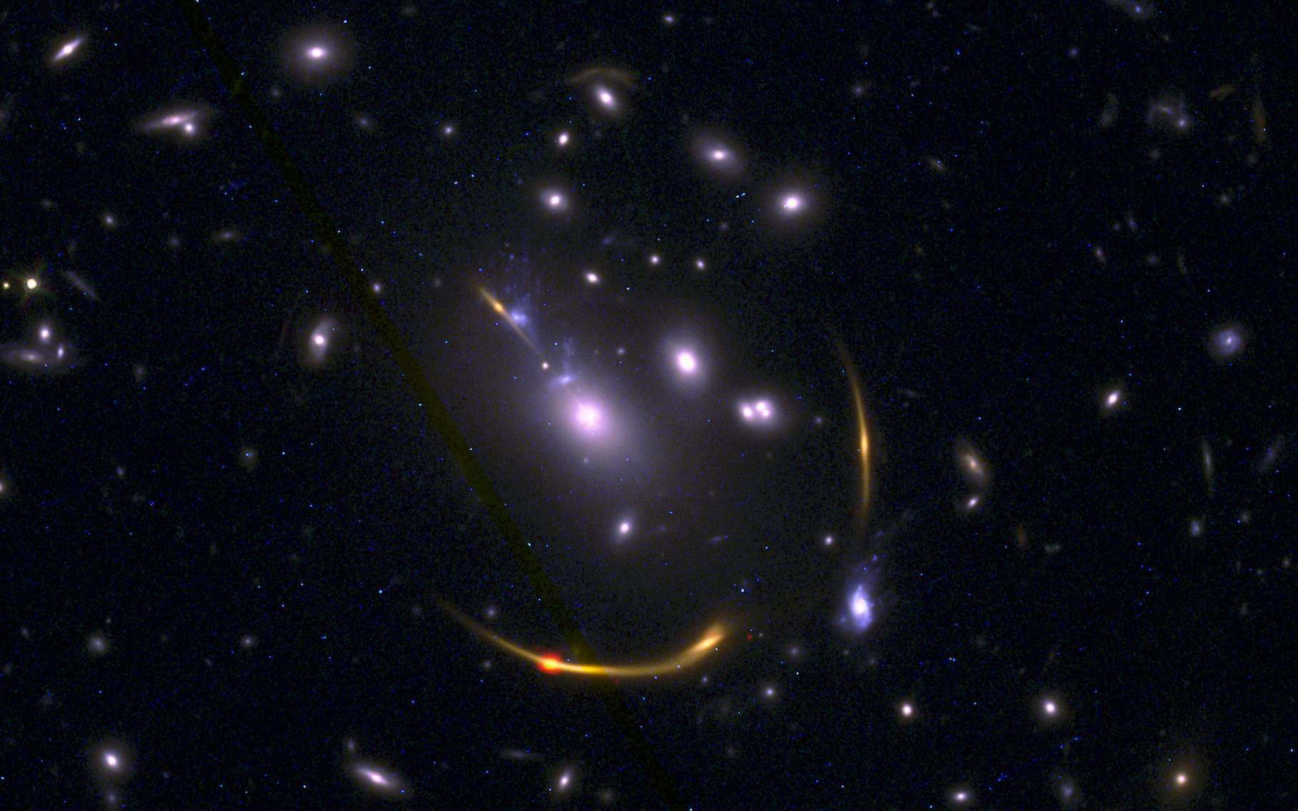 The first large galaxies suddenly stopped producing stars