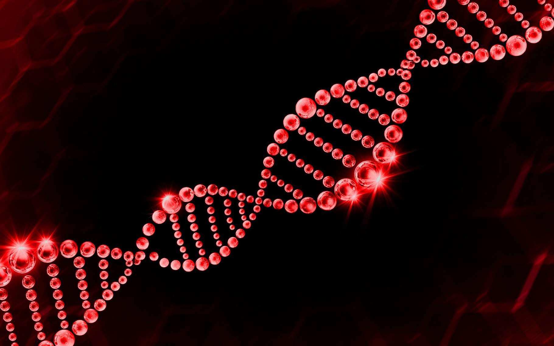 Parmi les biotechnologies rouges (aussi appelées biotechnologies de la santé) figurent les techniques de séquençage de l'ADN. © Vichy Deal, Shutterstock