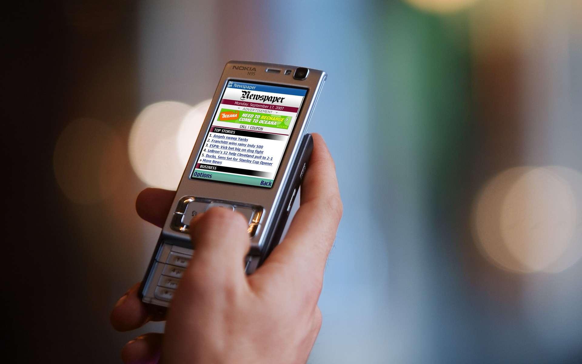 « A l'étranger, mon mobile me connecte sans problème à Internet ! C'est merveilleux... » Merveilleux, oui, mais pas gratuit. © DR
