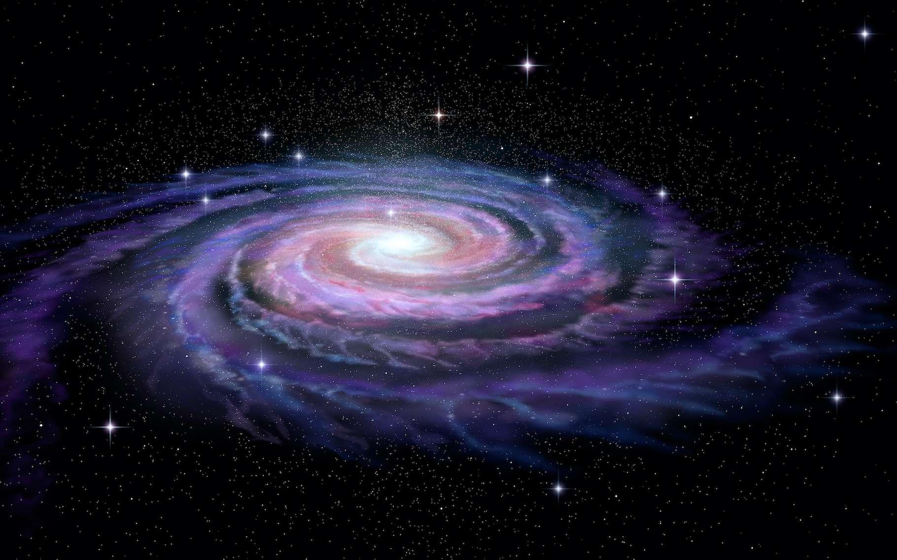 En étudiant les rayonnements cosmiques reçus sur Terre, les astronomes espèrent mieux comprendre l'origine de la matière dans notre Voie lactée. © Alexandr Mitiuc, Adobe Stock