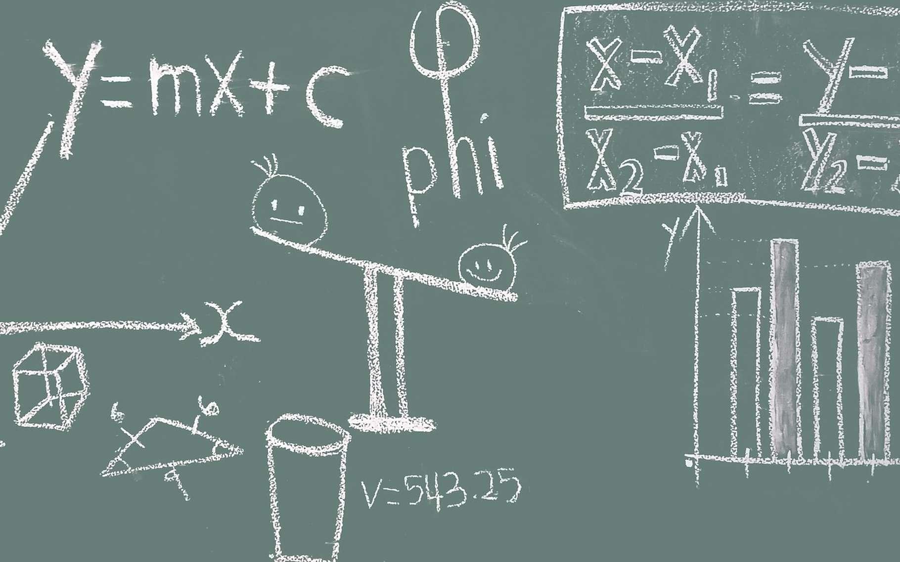 Des chercheurs de l'université ont étudié les impacts que peuvent avoir nos connaissances en mathématiques sur notre vie quotidienne. Leur conclusion : les maths, c'est aussi bon pour la santé! © Pixapopz, Pixabay, CC0 Public Domain