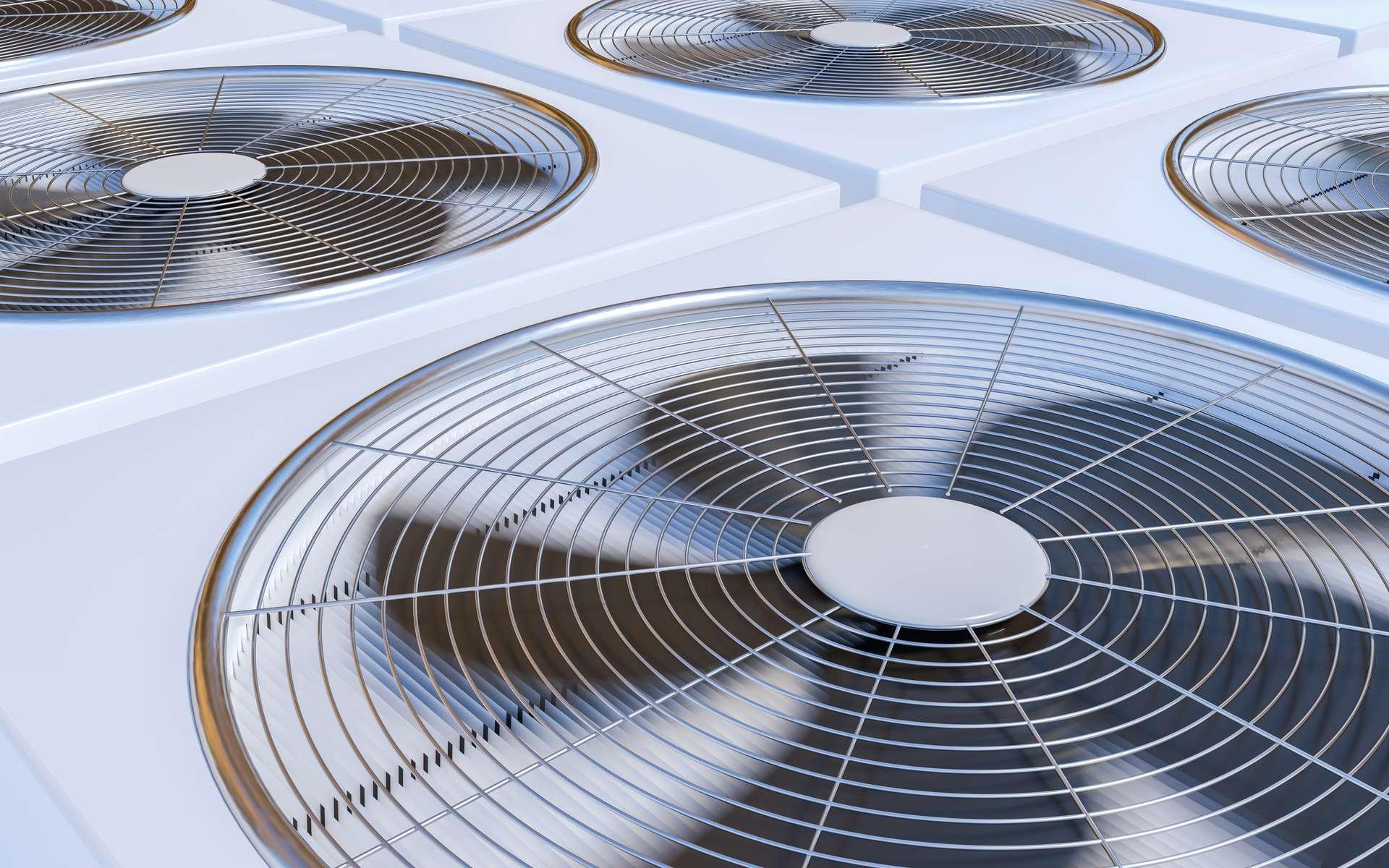 Inventé par W.H. Carrier en 1902, le principe de l'air conditionné a donné naissance à la climatisation telle que nous la connaissons aujourd'hui. © vchalup, Adobe Stock