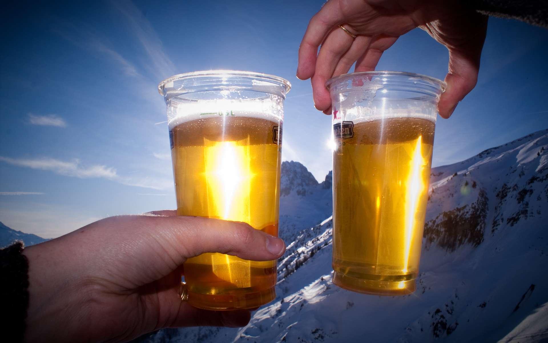 La bière ne supporte pas bien d'être exposée au soleil. Elle prend rapidement une odeur nauséabonde. © Sam' suffy, Flickr, CC by-nc 2.0