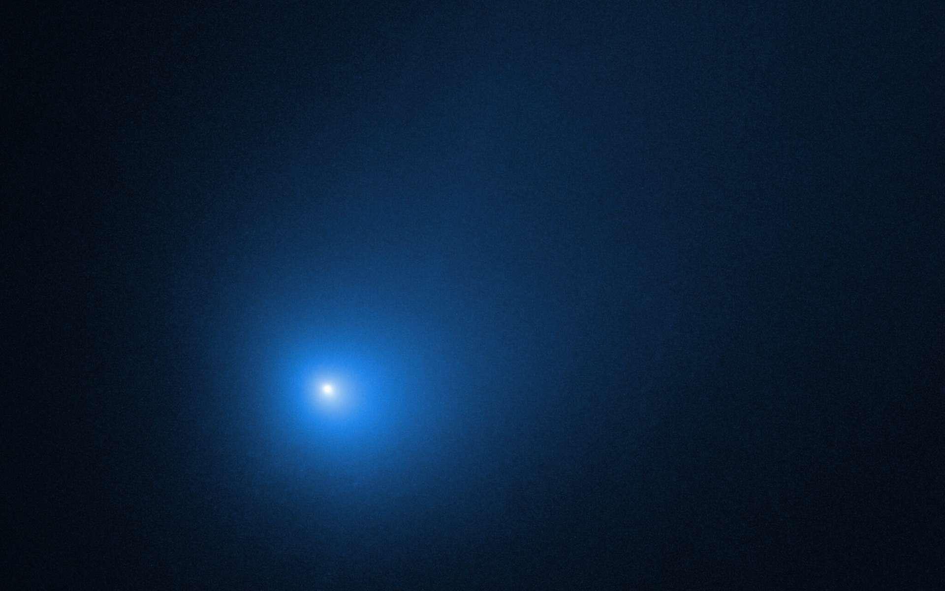 2I/Borisov photographiée par Hubble début décembre 2019 au moment du périhélie. © Nasa, ESA, D. Jewitt (Ucla)