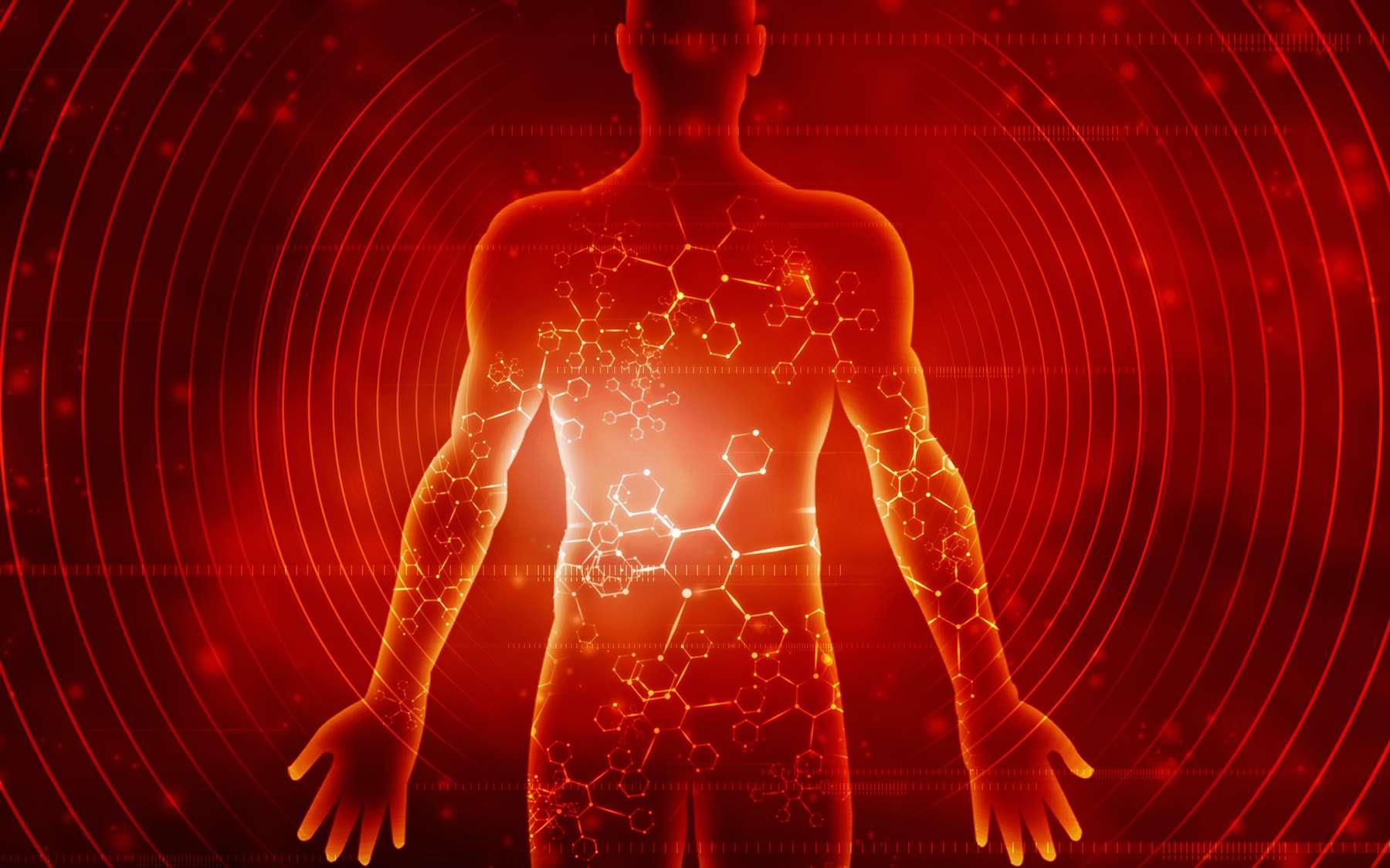 La surréaction du système immunitaire ne serait en cause que dans une minorité de cas dans les formes graves de Covid-19. © jijomathai, Adobe Stock