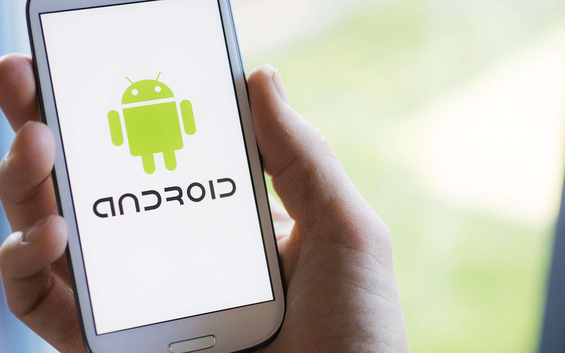 Le navigateur d'Android permet de supprimer certaines données. © Twin Design, Shutterstock