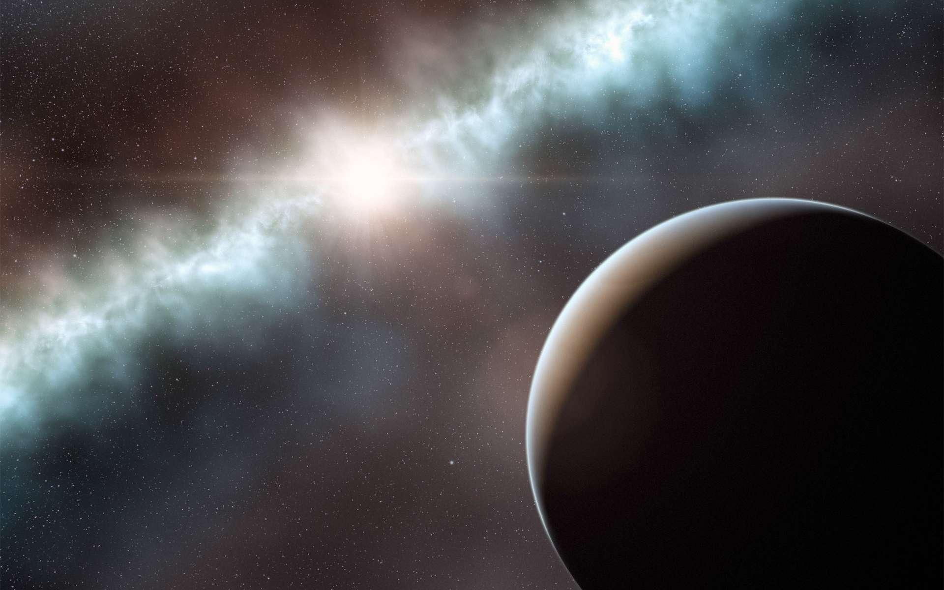 Des astronomes vont utiliser un radiotélescope de plus de 100 mètres pour écouter 86 planètes susceptibles d'offrir des conditions favorables à la vie. © ESO/L. Calçada