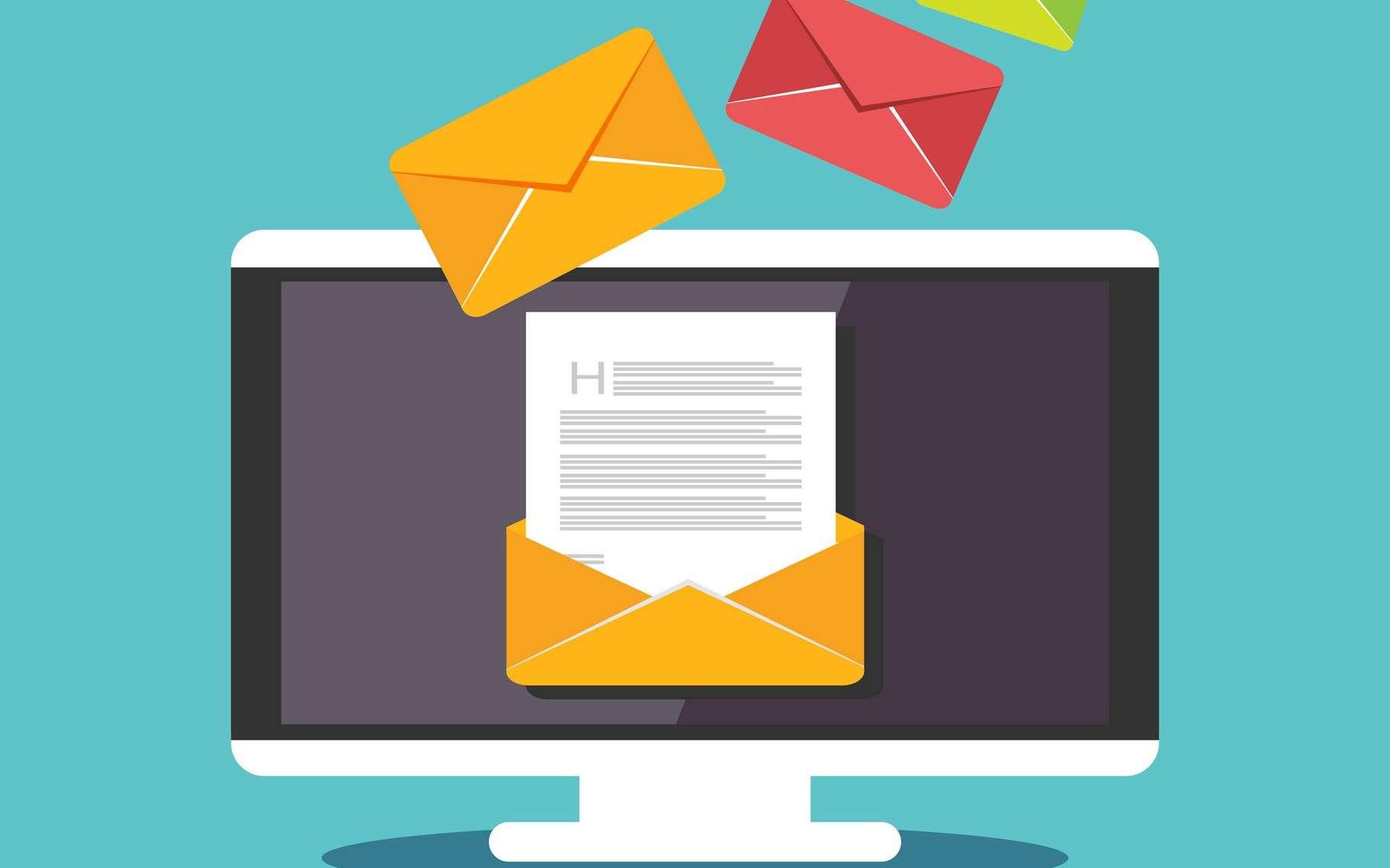 Dans GMail, vous avez jusqu'à 30 secondes pour changer d'avis et annuler l'envoi d'un message. © Hanss, Shutterstock